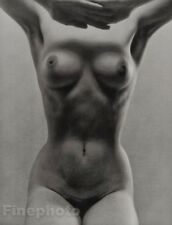 1972 RUTH BERNHARD Photo Litho Plate FEMALE NUDE Art Limited Edition FRAME READY