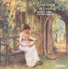 Bird Songs at Eventide - Robert  White Tenor, Stephen Hough Piano Import CD Exce