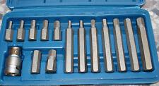 Bitsatz Innensechskant mit Adapter, Biteinsätze Schraubendreher BGS/Kraftmann