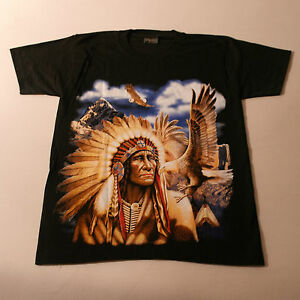 Good QualityT.Shirt With INDIAN Colou In Front Black White At Back Size S - XXL