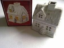 MARCO POLO 3021/08 Kerzenhaus aus Porzellan,goldverziert Design Anne Preuß