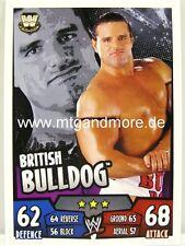 Slam attax rumble-British Bulldog-Legends