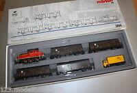 Märklin 2890 Güterzug Deutsche Bundepost mit Diesellok V60 Spur H0 OVP