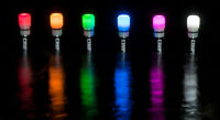 Carpspot Spotmarker Leuchtkopf Wunschfarbe, Dämmerungsschalter leuchtet 8 Wochen