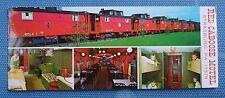 1979 Advertising Card from Red Caboose Motel in Strasburg, Pennsylvania