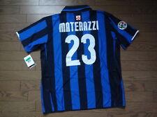Inter Milan #23 Materazzi 100% Original Centenary Jersey XL BNWT 2007/08 Home
