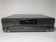 Technics Sl-Pd8 5-Disc Cd Compact Disc Changer Player Vg Tested (No Remote)