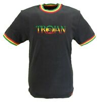 Trojan Records 100% Cotton Black Jamaica Logo T Shirt
