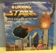 JACK STARR'S BURNING STARR Rock The American Way  Vinyl LP EXCELLENT CONDITION