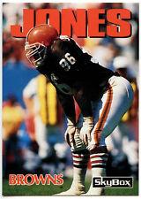 James Jones #76 Browns Skybox Impact 1992 American Football Card (C543)