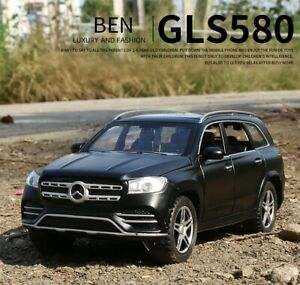 1:32 For Mercedes Benz GLS 580SUV Car Collection Model Alloy Metal Children Toy