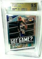 2019-20 Lebron James Mosaic Got Game  #7  BECKETT BGS 9.5 (10 Sub Grade)