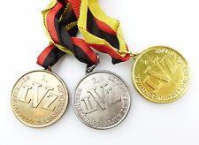 #e5800 3 Medaillen LVZ Leipzig Bezirksstaffellauf Schüler Gold, Silber & Bronze