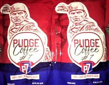 IVAN RODRIGUEZ PUDGE GROUND  COFFEE #7 LOT OF 4 BAGS   8OZ EACH  -FREE SHIPPING