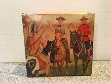 1960's Wyatt Earp Hartland Original Box for Wyatt Earp figure @ horse (Box Only)