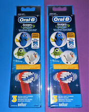 Oral-B Stages Power Replacement Brush Heads Disney Finding Dory = 6 BRUSH HEADS