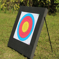 60*60cm Archery Target EVA Foam Board Self Healing Compound Recurve With Stand
