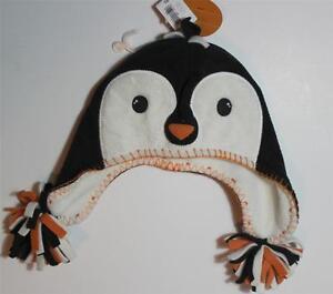 Penguin Baby Beanie Cap Toboggan Fleece Size  Small Old Navy New