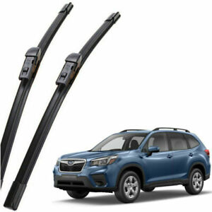 Subaru Outback Legacy Front & Rear Windshield Wipers Blade Genuine 2020-2021