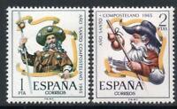 ESPAÑA (1965) SERIE NUEVA SIN FIJASELLOS MNH SPAIN -EDIFIL 1672/73 AÑO SANTO