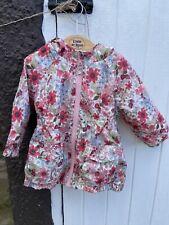 Next Girls Spring Raincoat Jacket 12-18 Months
