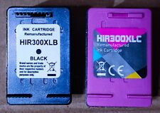 Premium compatible tri-colour + black high capacity ink cartridges HP 300XL