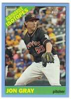 2015 Topps Heritage Minor League Blue Border Parallel #110 Jon Gray