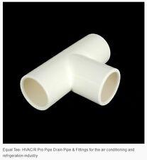 PVC Air Cond & Refrig Equal Tee 20mm