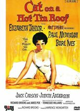"NEW DVD "" Cat On A Hot Tin Roof "" Elizabeth Taylor, Paul Newman"