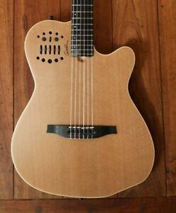 Godin ACS SLIM Nylon Acoustic Electric Guitar - Natural Semi Gloss