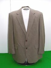 Lot two Brooks Brothers checked Plaid Sportcoats Blazers Jackets 44R  USA
