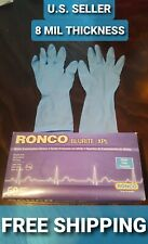Blue Nitrile Exam Gloves Small Powder-Free Latex-Free 50 Medical Disposable