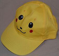 Pikachu Face Pokemon Go Trainer Hat Ball Cap Outfit Sungear Team Instinct Yellow