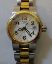 Swiss ORIS 583 Automatic Front Sapphire Water Resistant Stainless S Ladies Watch