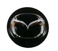 Black Alloy Wheel Center Cap  58mm For Mazda 3 6 CX-3 CX-5 CX-9 RX-8 KD51371