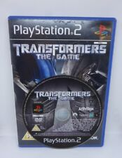 Sony Playstation 2 Transformers the game 2007 Activision PAL Hasbro Gaming Game