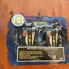 KIDS TOY SEALED 2007 TACTICAL 2 WAY COMMUNICATORS  UP TO 50 FT WALKIE TALKIES