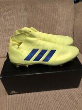 Adidas Men's Nemeziz 18+ Fg Soccer Cleats [Yellow/Blue] Size:13 Brand New W/box