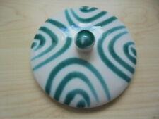 GMUNDNER Keramik Ersatz DECKEL grün geflammt  für 11,0cm Öffnungen
