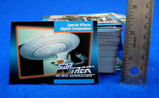 120+ Star Trek Next Generation Collector Cards
