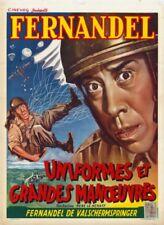 Affiche -  UNIFORMES ET GRANDES MANOEUVRES - 36x56cm