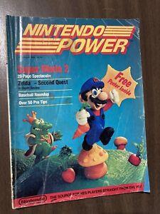 Nintendo Power #1, July/August 1988, First Premiere Issue, Super Mario 2 + BONUS