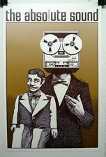 The Absolute Sound vintage poster by Gary Viskupic