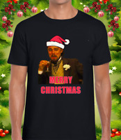 DICAPRIO MEME CHRISTMAS MENS T SHIRT FUNNY JOKE EMOJI CHRISTMAS SWEATER TOP NEW