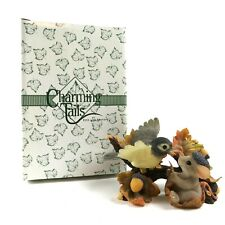 Charming Tails Wherever You Land I'll Be There Mouse Bird Figurine W/ Box 98/240