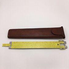 Pickett Model N803-Es Slide Rule in Leather Case