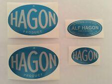 Hagon Fuel Tank / Air Filter Sticker Set  Grasstrack / Speedway