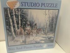TWO CHIEFS- Kirk Randle -  Bits and Pieces Puzzle - 1000 pieces-  NEW