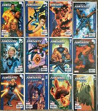 Marvel Ultimate Fantastic Four Comic Book LOT (12) Issue #1-12 NM-M Rare Thing