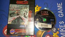 Clock Tower (Sony PlayStation 1, 1997) PS1 Disc & Artwork  Blockbuster Tested